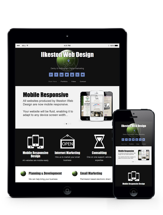 Tablet Web Design