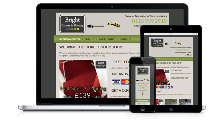 Nottingham Carpet Fitter Website