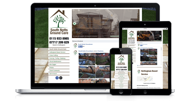 Nottingham Groundcare Website
