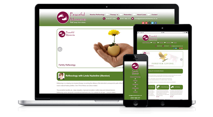 Derby Reflexologist Website