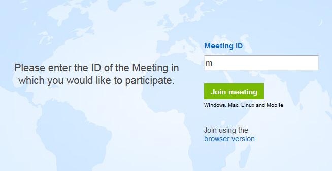 TeamViewer Browser Meetings