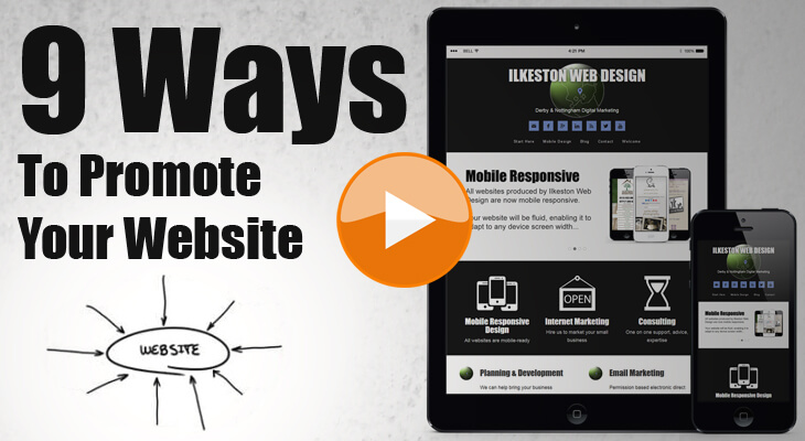 9 Ways To Promote Your Website