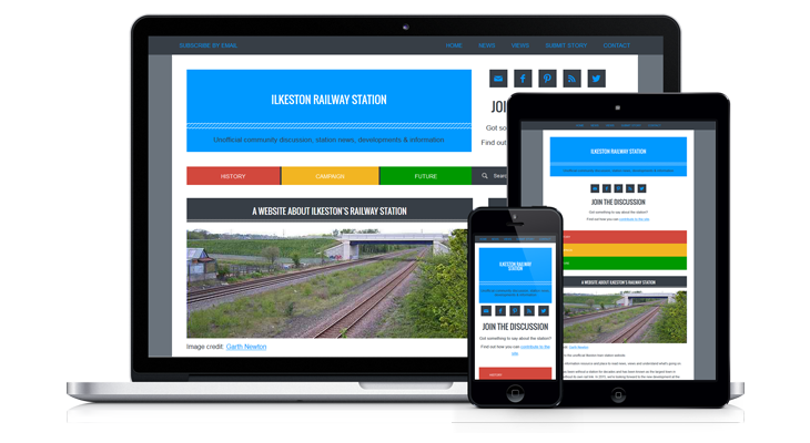Ilkeston Railway Station website