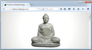 The Zen of Website Design