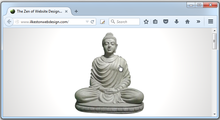 The Zen of Website Design