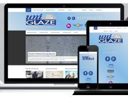 Uniglaze Windows website demonstration
