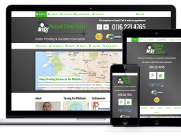 Midland Damp Doctor Mobile website