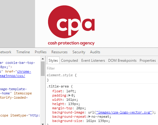 CPA logo CSS