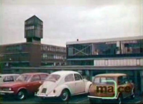 Charnos Ilkeston carpark 1977