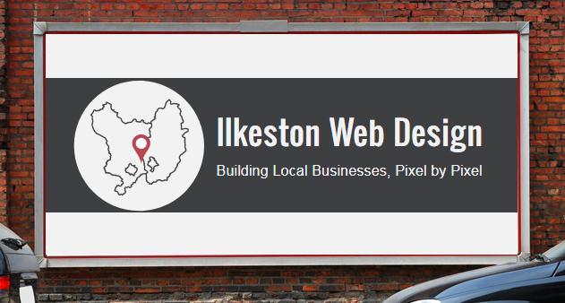 SVG logo on a billboard